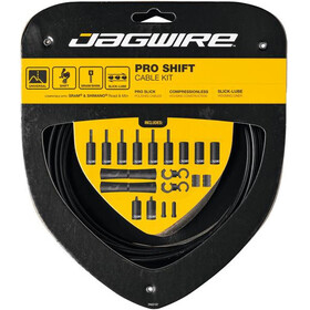 Jagwire 2X Pro Shift Schakelkabel Set, black